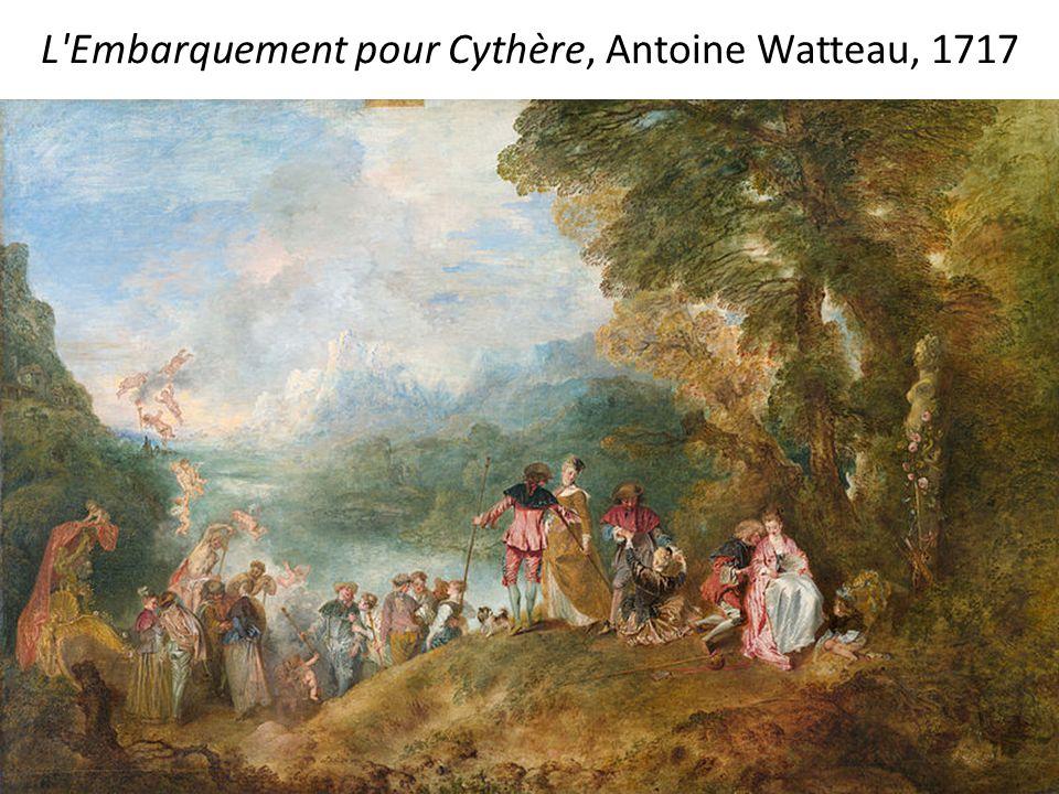 L Embarquement pour Cythère, Antoine Watteau, 1717