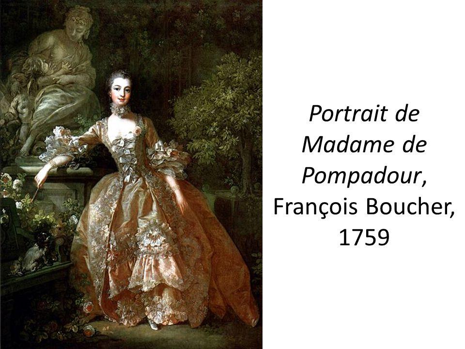 Portrait de Madame de Pompadour, François Boucher, 1759