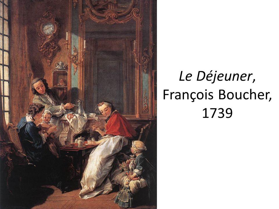 Le Déjeuner, François Boucher, 1739