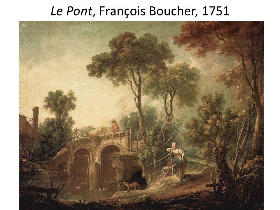Le Pont, François Boucher, 1751