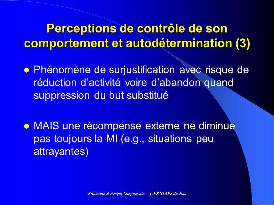Perceptions de contrôle de son comportement et autodétermination (3)