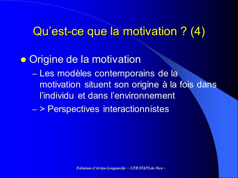 Qu'est-ce que la motivation (4)