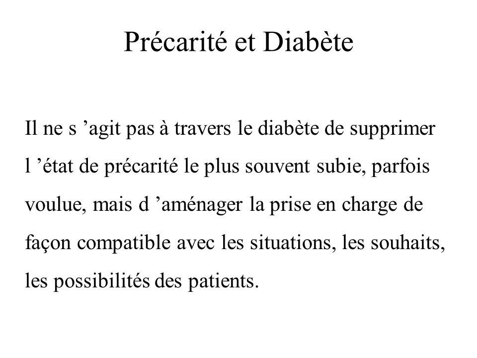 Précarité et Diabète