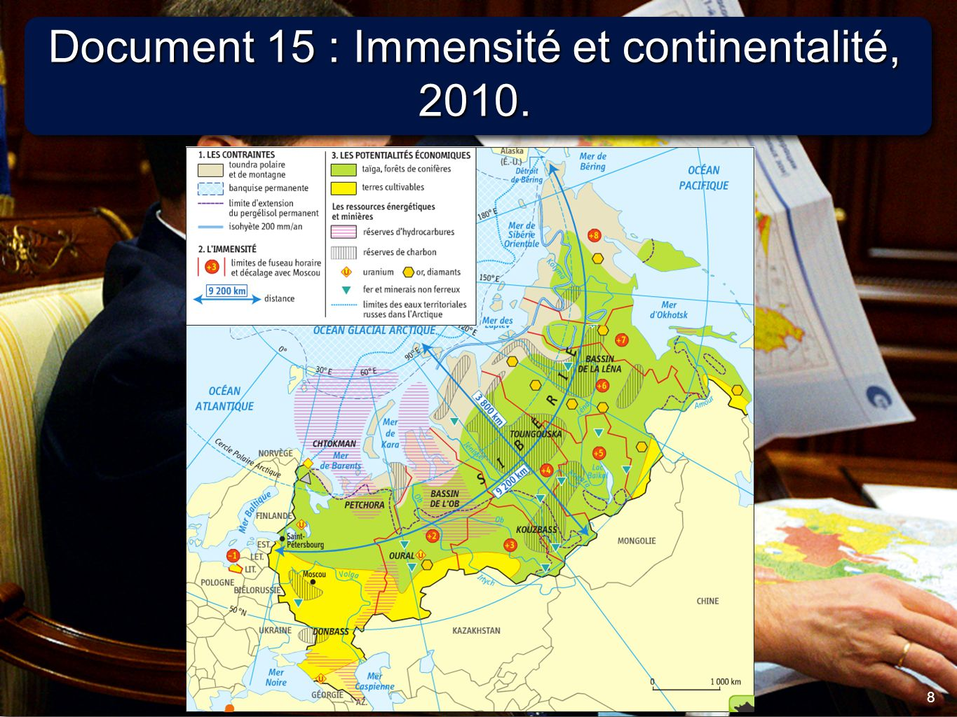 Document 15 : Immensité et continentalité, 2010.