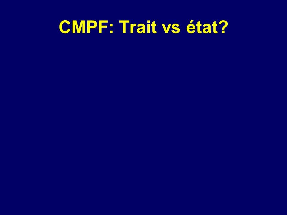 CMPF: Trait vs état
