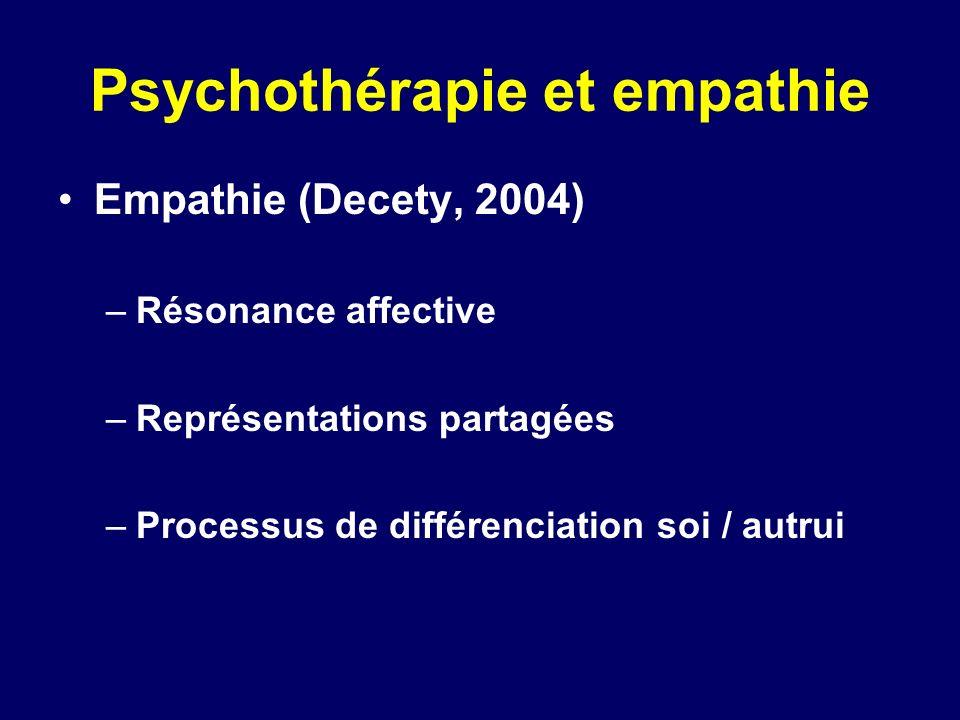 Psychothérapie et empathie