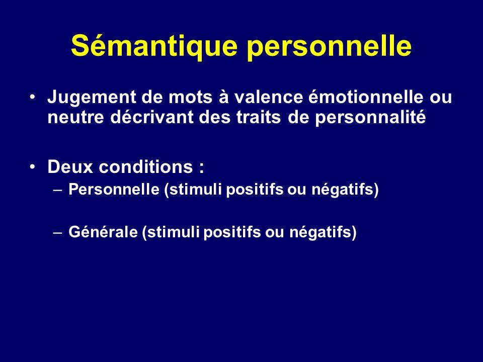Sémantique personnelle