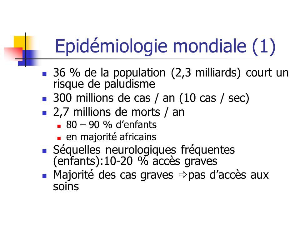 Epidémiologie mondiale (1)