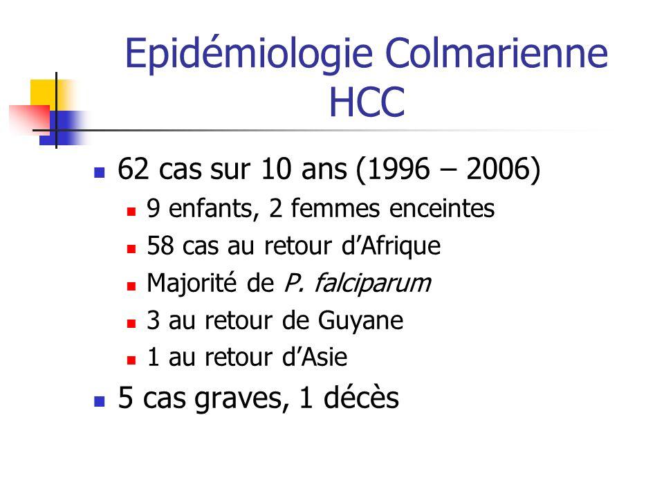 Epidémiologie Colmarienne HCC