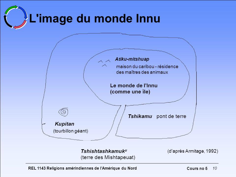 L image du monde Innu Le monde de l Innu (comme une île)