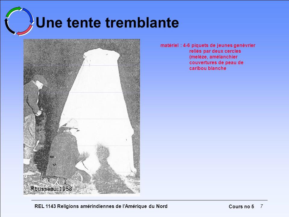 Une tente tremblante Rousseau, 1958
