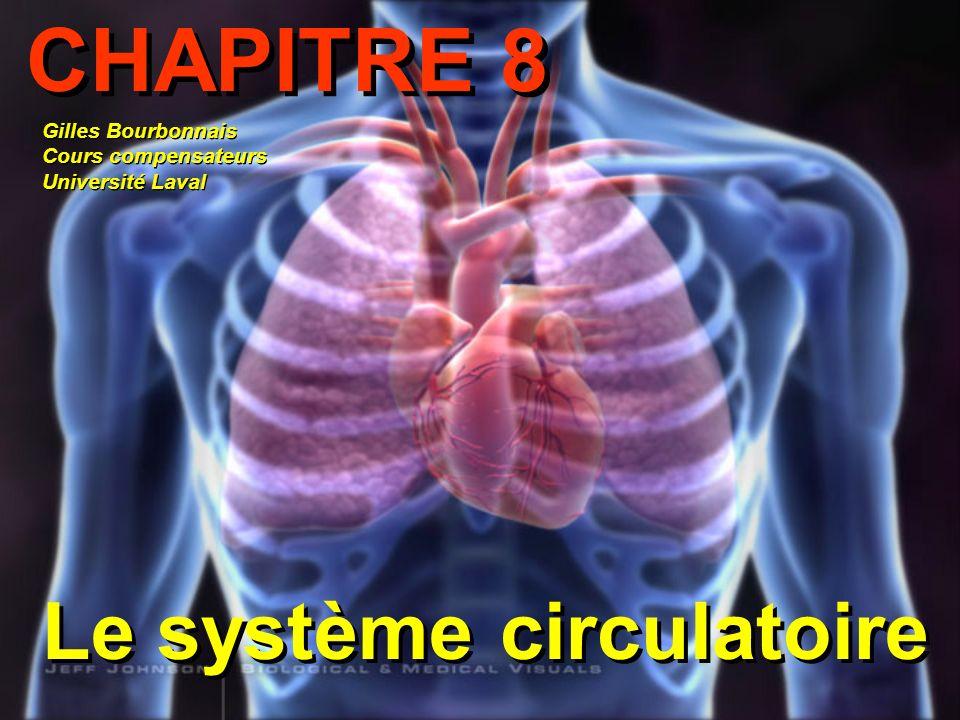 CHAPITRE 8 Le système circulatoire