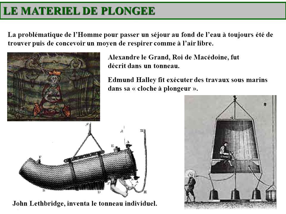 LE MATERIEL DE PLONGEE