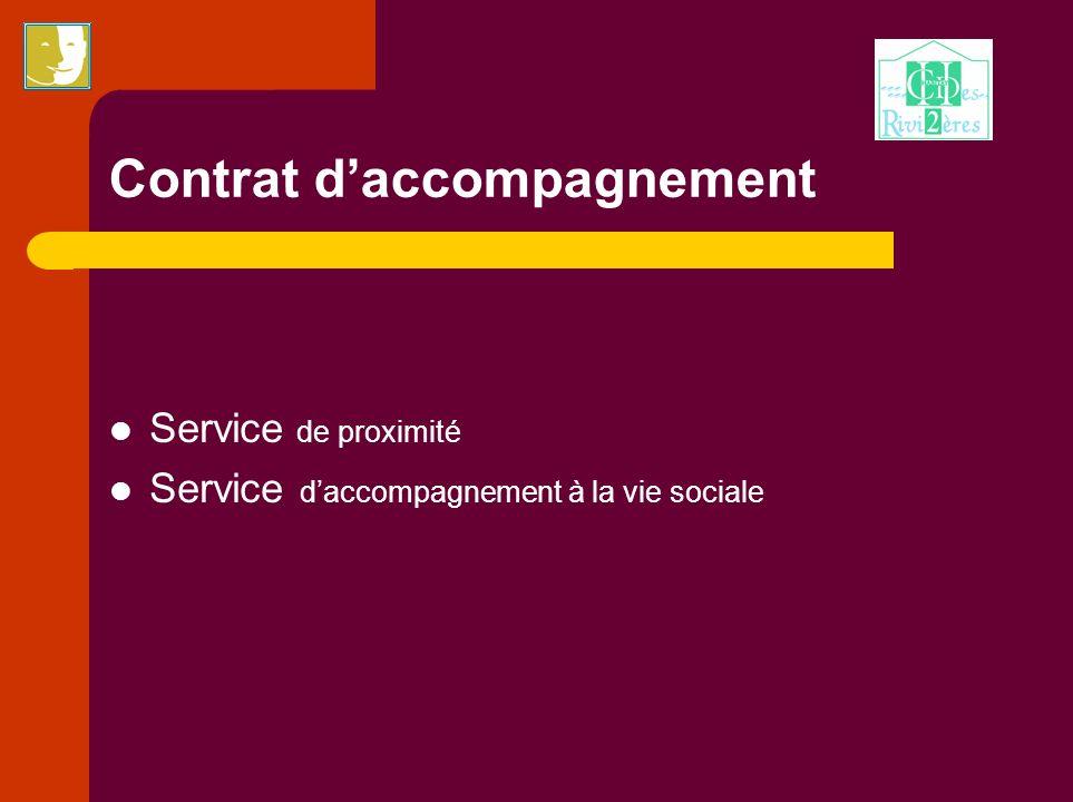 Contrat d'accompagnement
