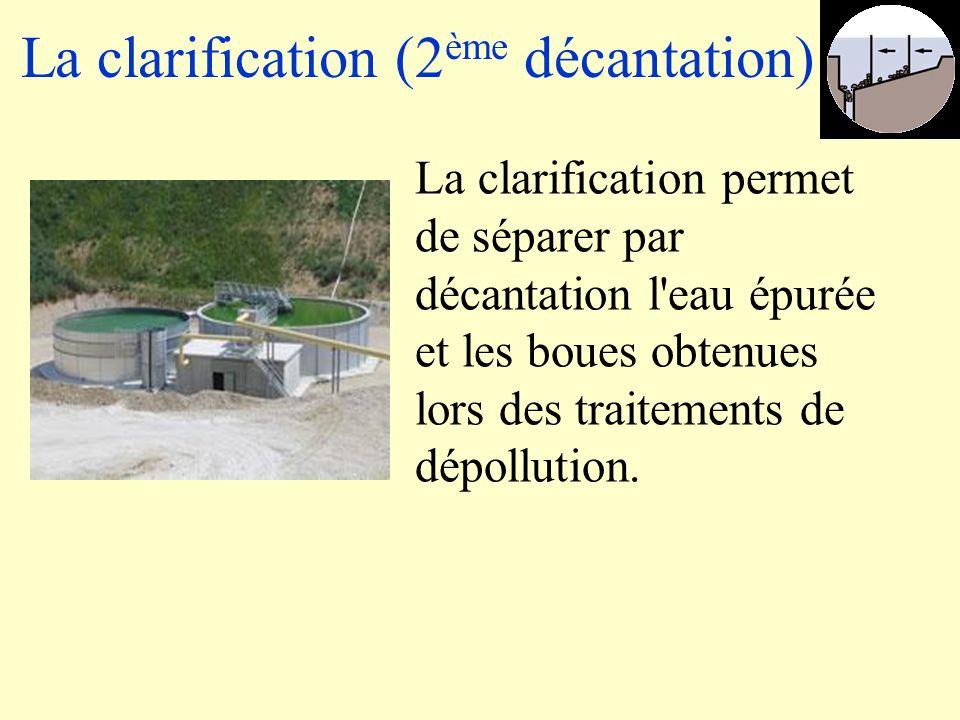 La clarification (2ème décantation)