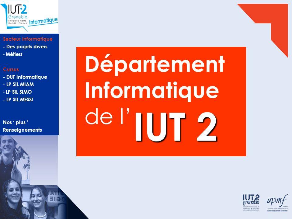 Département Informatique de l'