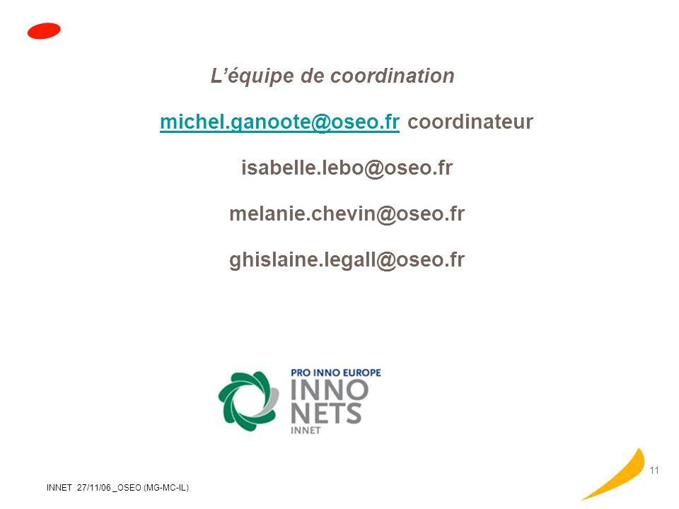 michel.ganoote@oseo.fr coordinateur