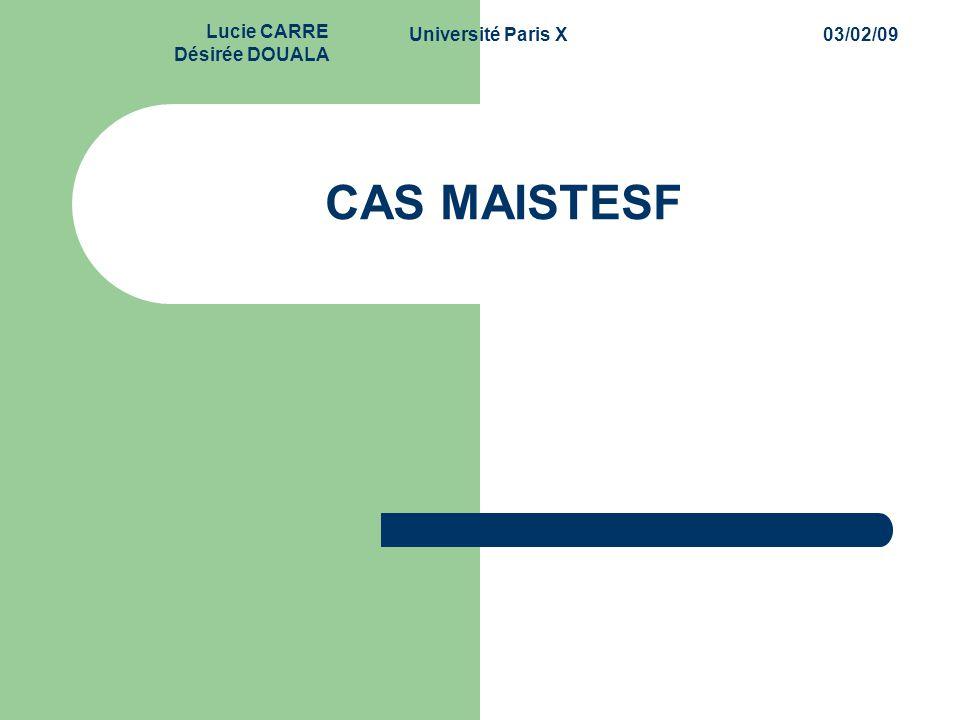 CAS MAISTESF 1