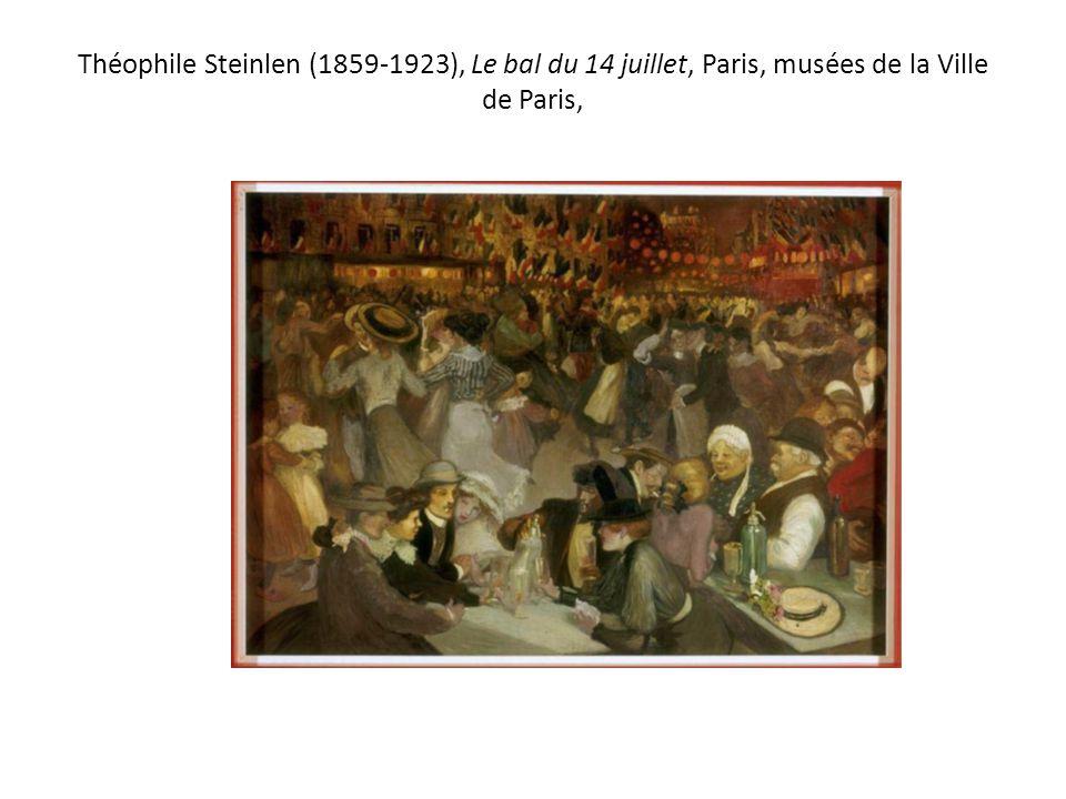 Théophile Steinlen (1859-1923), Le bal du 14 juillet, Paris, musées de la Ville de Paris,