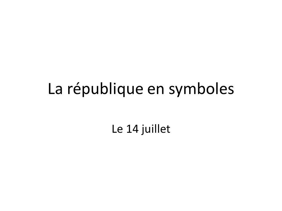 La république en symboles