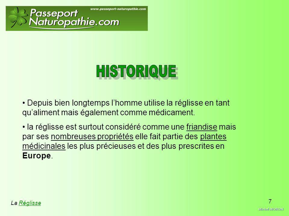 Michel MORON HISTORIQUE