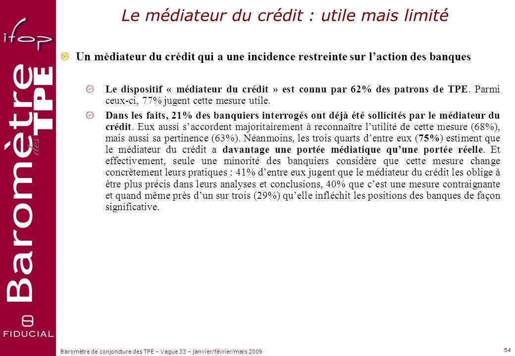 Le médiateur du crédit : utile mais limité