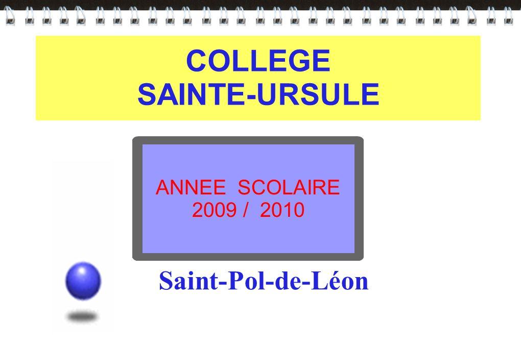 COLLEGE SAINTE-URSULE