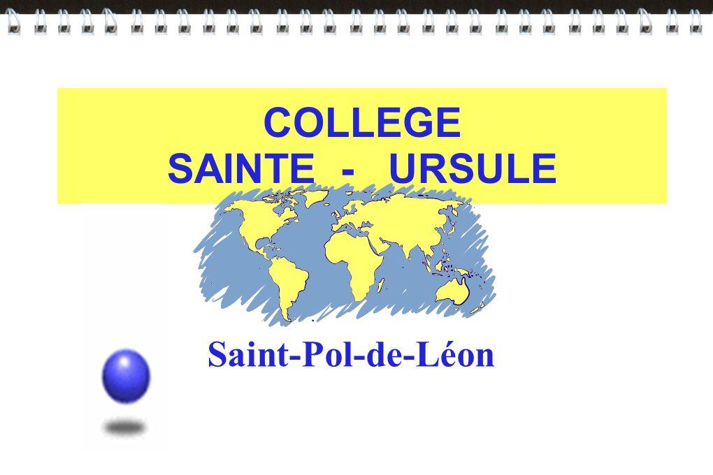 COLLEGE SAINTE - URSULE