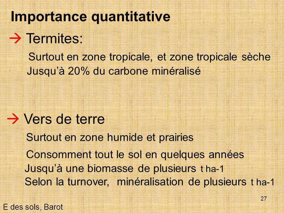 Importance quantitative