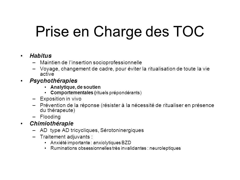 Prise en Charge des TOC Habitus Psychothérapies Chimiothérapie