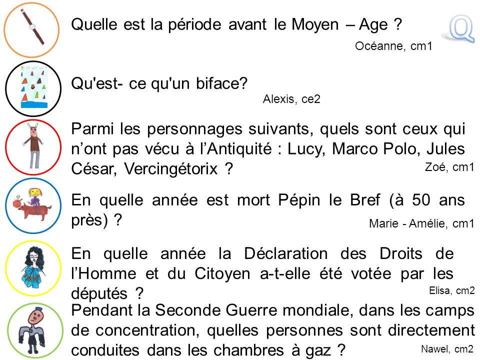 Q Quelle est la période avant le Moyen – Age