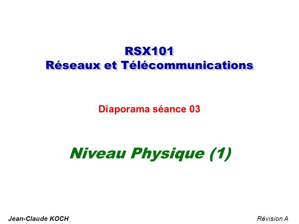 RSX101 Réseaux et Télécommunications