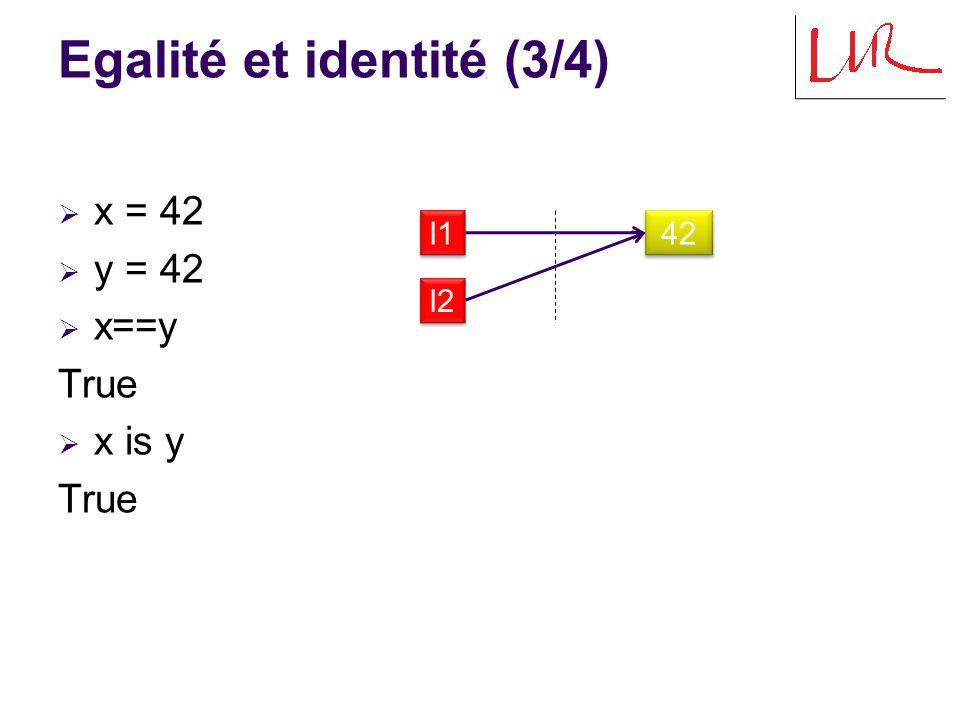 Egalité et identité (3/4)