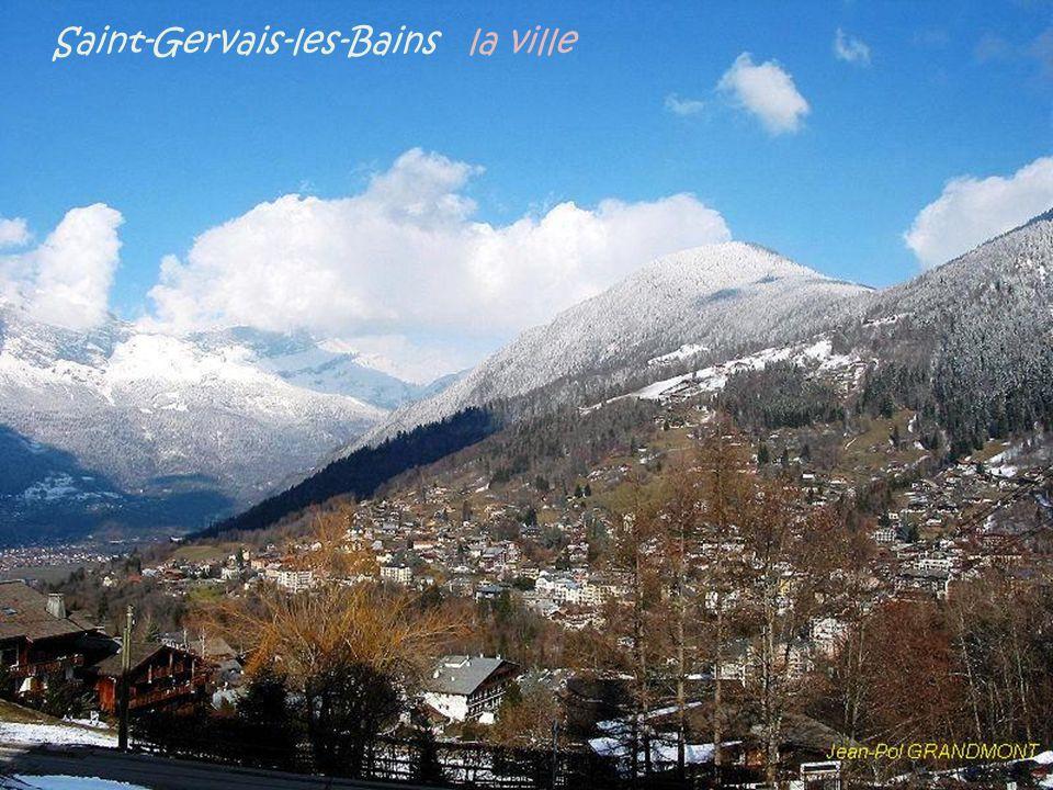Saint-Gervais-les-Bains la ville