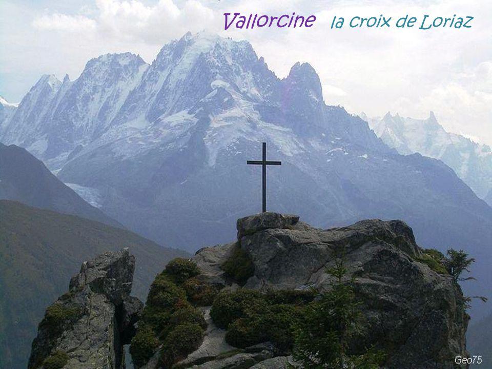 Vallorcine la croix de Loriaz