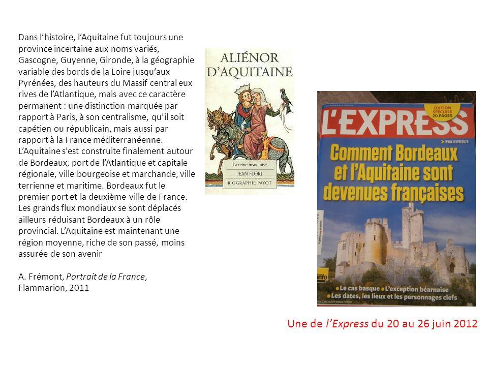 Une de l'Express du 20 au 26 juin 2012