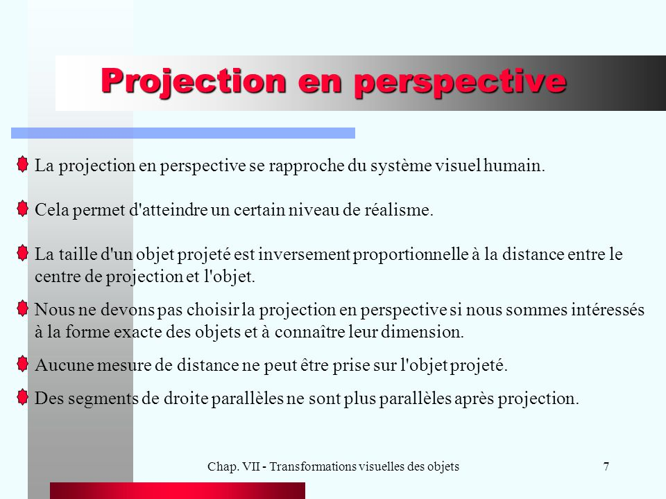 Projection en perspective