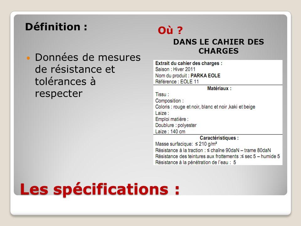 C est v rifier si le produit est conforme aux sp cifications ppt t l charger - Cahier des charges definition ...