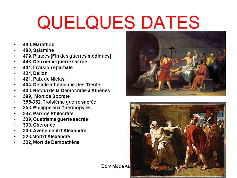 QUELQUES DATES 490, Marathon 480, Salamine