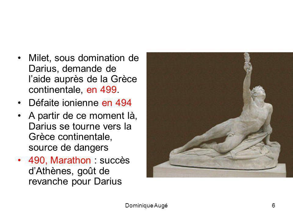 490, Marathon : succès d'Athènes, goût de revanche pour Darius
