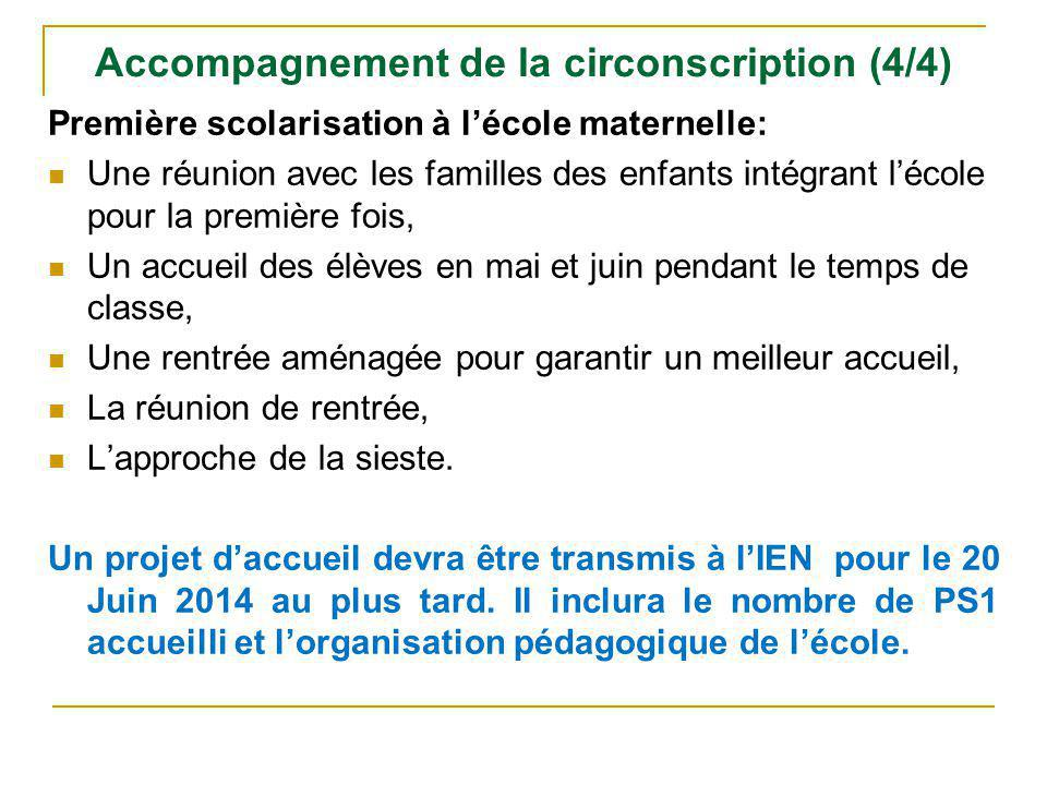 Accompagnement de la circonscription (4/4)
