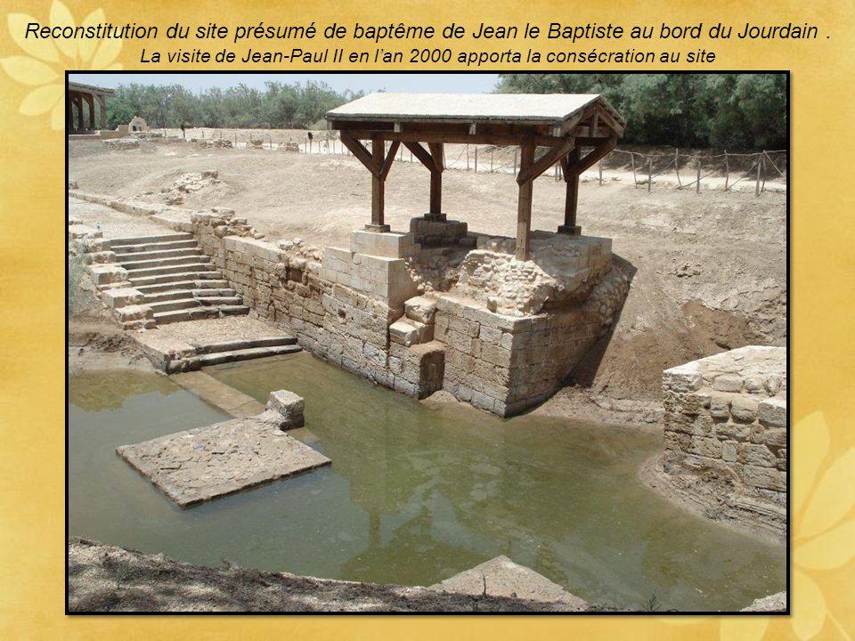 La visite de Jean-Paul II en l'an 2000 apporta la consécration au site