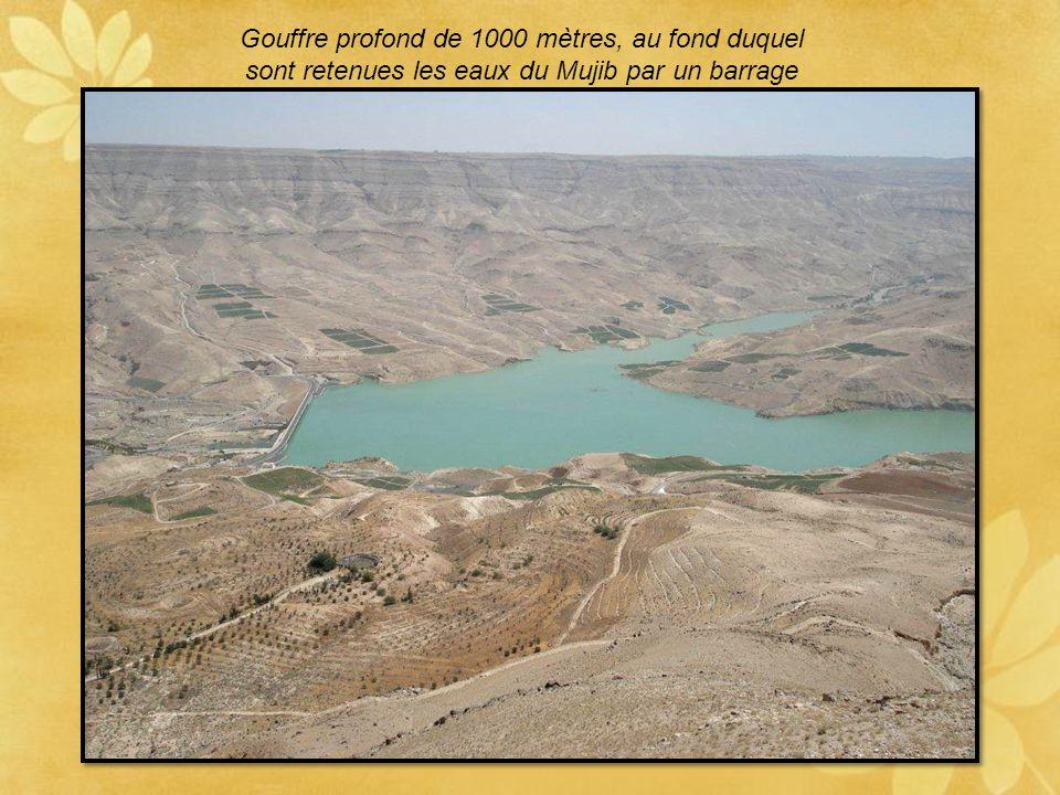 Gouffre profond de 1000 mètres, au fond duquel