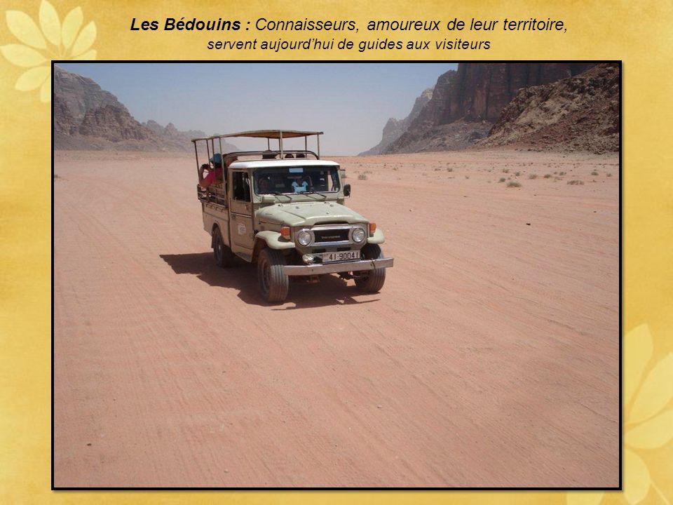 Les Bédouins : Connaisseurs, amoureux de leur territoire,