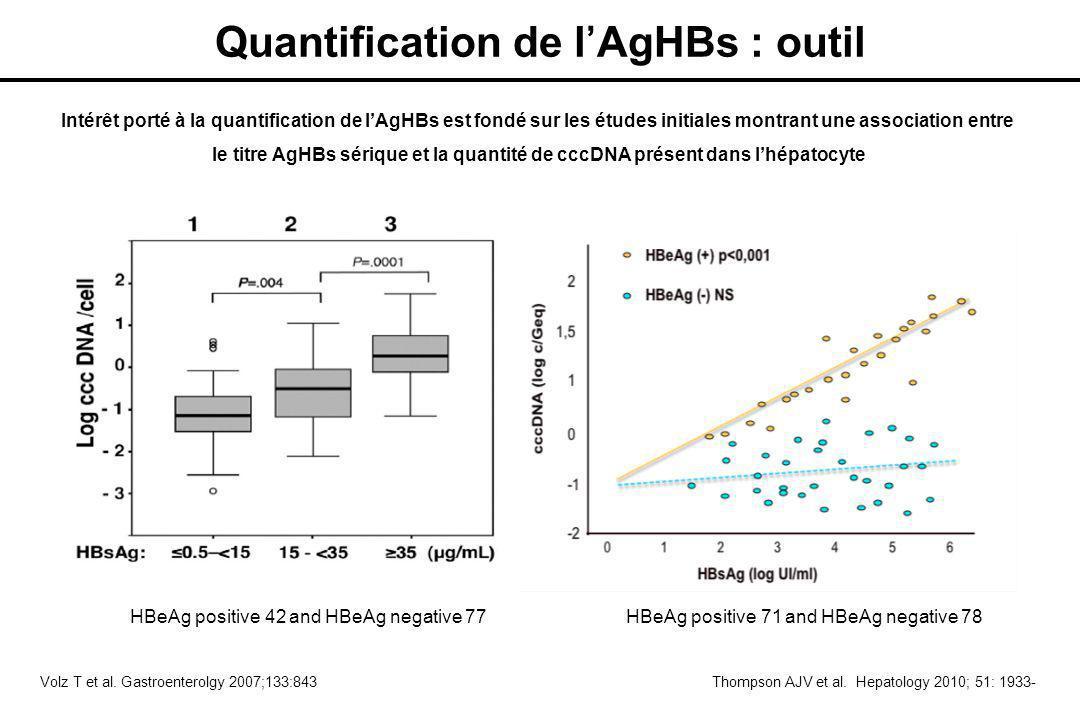 Quantification de l'AgHBs : outil