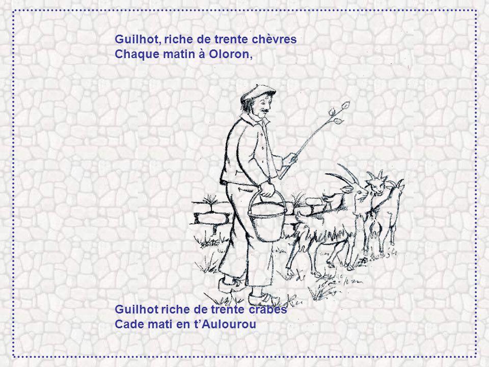 Guilhot, riche de trente chèvres