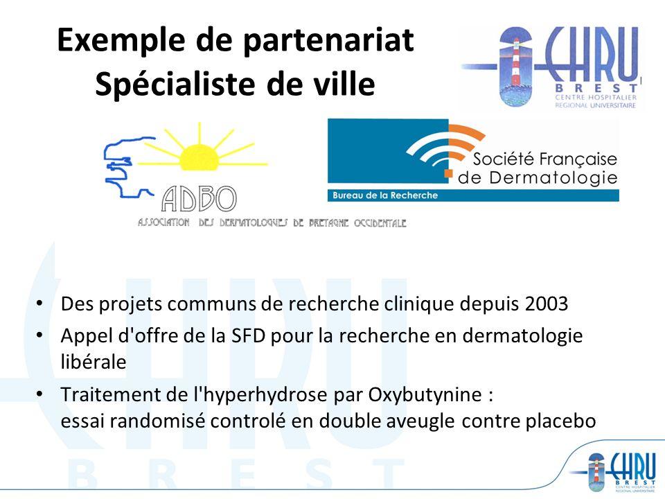 Exemple de partenariat Spécialiste de ville