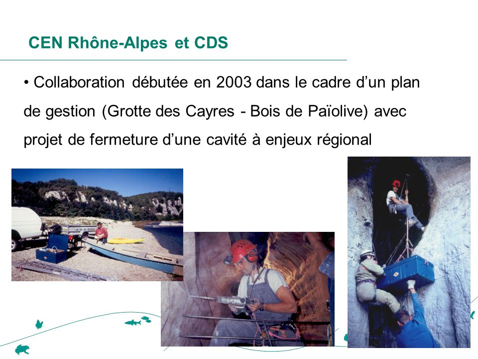 CEN Rhône-Alpes et CDS