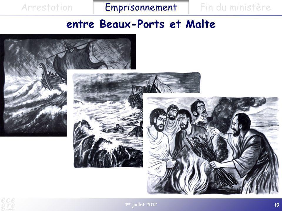 entre Beaux-Ports et Malte