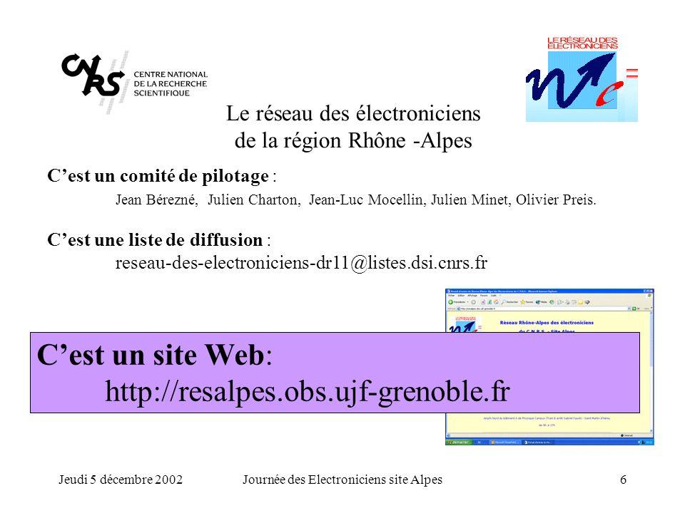 C'est un site Web: http://resalpes.obs.ujf-grenoble.fr